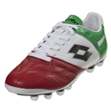 Lotto Stadio Potenza IV 300 FG (White/Green/Red)