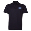 Argentina Flag Soccer Polo (Black)
