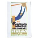 1930 FIFA World Cup Uruguay Poster