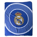 Real Madrid Bullseye Fleece Blanket