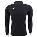 PUMA Pitch Long Sleeve Jersey (Blk/Wht)