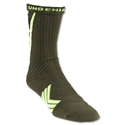 Under Armour Undeniable Camo Crew Sock (Gr/Yellow)