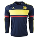 Colombia 2016 LS Away Soccer Jersey