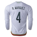 Mexico 2016 R. MARQUEZ LS Away Soccer Jersey