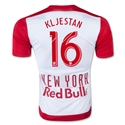 New York Red Bulls 2015 KLJESTAN Authentic Home Soccer Jersey