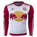 New York Red Bulls 2015 Jersey de Futbol Local Autentico ML