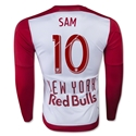 New York Red Bulls 2015 SAM LS Authentic Home Soccer Jersey