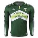 Portland Timbers 2015 LS Authentic Home Soccer Jersey