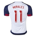 Real Salt Lake 2015 MORALES Away Soccer Jersey