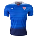 USA 2015 Away Soccer Jersey