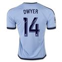 Sporting KC 2015 DWYER Jersey de Futbol Local