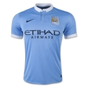 Manchester City 15/16 Home Soccer Jersey