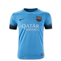 Barcelona 15/16 Youth Third Soccer Jersey