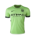 Manchester City 15/16 Youth Third Soccer Jersey