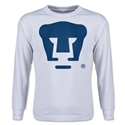 Pumas UNAM Core LS Youth T-Shirt (White)
