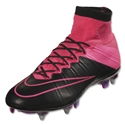 Nike Mercurial Superfly Leather SG-Pro (Black/Hyper Pink)