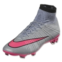 Nike Mercurial Superfly FG (Wolf Gray/Hyper Pink)
