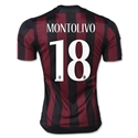 AC Milan 15/16 MONTOLIVO Badge of Honor Home Soccer Jersey