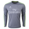 Real Madrid 15/16 LS Away Soccer Jersey