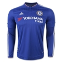 Chelsea 15/16 LS Home Soccer Jersey