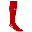 Under Armour Striker Soccer OTC Sock (Sc/Wh)