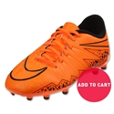 Nike Hypervenom Phelon II FG Junior (Total Orange)