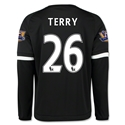 Chelsea 15/16 26 TERRY LS Third Soccer Jersey