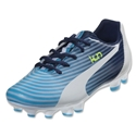 PUMA Kun 16 FG Junior (Fluo Blue/White)