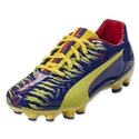PUMA Falcao 9 FG Junior (Clematis Blue/Vibrant Yellow/Poppy Red)