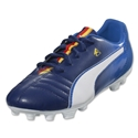PUMA Cesc 4 FG Junior (Blueprint/White/Puma Red/Vibrant Yellow)