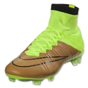 Nike Mercurial Superfly Leather FG (Canvas/Black/Volt)