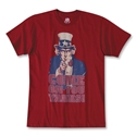 USA Soccer Come on You Yanks T-Shirt (Red)