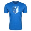 Atletico Madrid Distressed T-Shirt (Heather Royal)