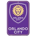 Orlando City 11 x 17 Door Sign