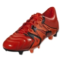 adidas X 15.1 FG/AG Leather (Solar Orange/Core Black)