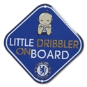 Chelsea Little Dribbler Car Sign