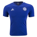 Chelsea adidas Anthem V-Neck T-Shirt (Royal)