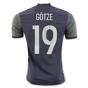 Germany 2016 GOTZE Authentic Away Soccer Jersey