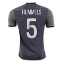 Germany 2016 HUMMELS Authentic Away Soccer Jersey