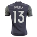 Germany 2016 MULLER Authentic Away Soccer Jersey