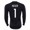 Germany 2015 NEUER LS Home Keeper Jersey