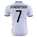 Germany 2016 SCHWEINSTEIGER Authentic Home Soccer Jersey
