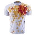 Spain 2016 Authentic Away Soccer Jersey