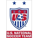 USWNT Crest 2015 One Nation Poster