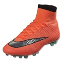 Nike Mercurial Superfly AG-R (Bright Mango/Metallic Silver)