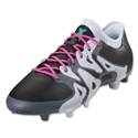 adidas X 15.2 FG/AG (Black/Shock Mint)