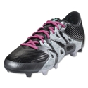 adidas X 15.3 FG/AG (Black/Shock Mint)