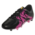 adidas X 15.3 FG/AG Junior (Black/Shock Pink)