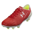 Under Armour Speedform CRM FG (Risk Red/White/High-Vis Yellow)