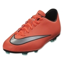 Nike Mercurial Victory V FG Junior (Bright Mango/Metallic Silver)